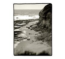 Bells Beach, VIC, Australia - B+W Photographic Print