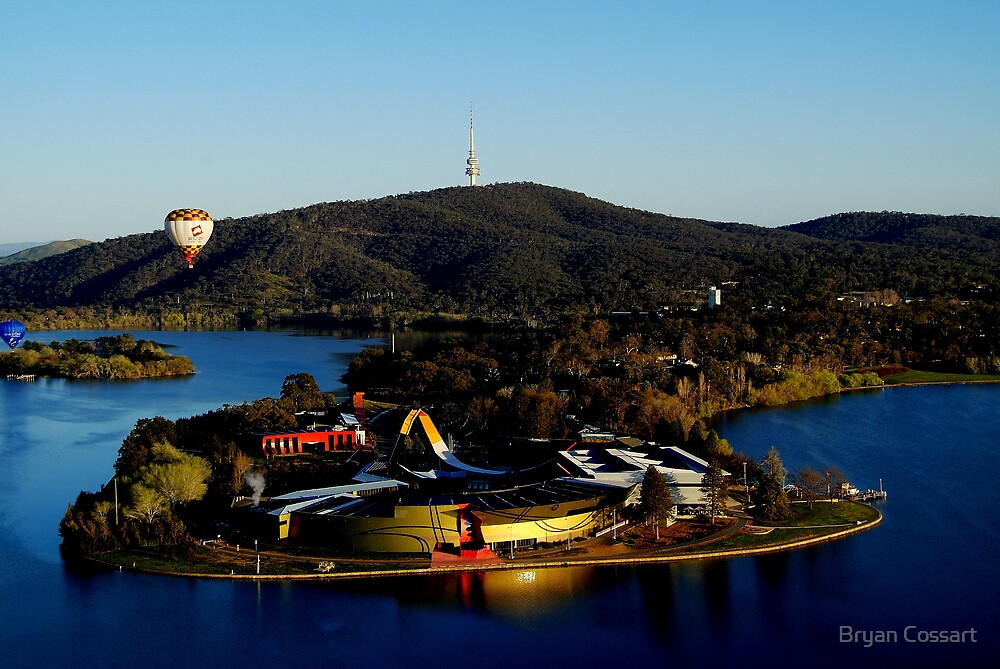 National Museum in Canberra by Bryan Cossart