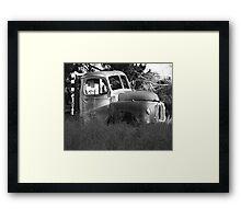 The Rigg Framed Print