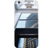 Reflection In Doorway, George Street, Sydney, Australia 2012 iPhone Case/Skin