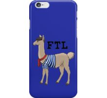 French the Llama iPhone Case/Skin