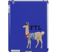 French the Llama iPad Case/Skin