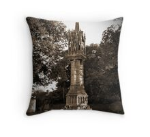 Memorial Crow Throw Pillow