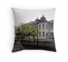 Kurashiki Bikan in the Evening Throw Pillow
