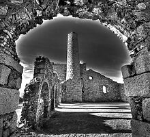 Cornish Mine Buildings by Kevin Hart