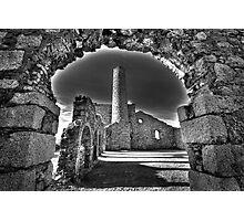 Cornish Mine Buildings Photographic Print