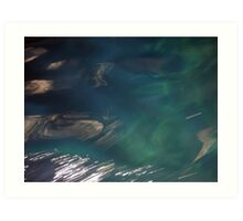 Sea at Blue Grotto Art Print