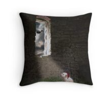 Waiting for the day Throw Pillow