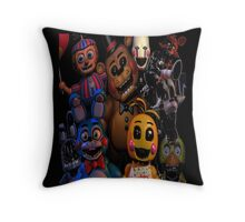 FNAF 2 animatronics Throw Pillow