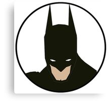 Simplistic Batman Canvas Print