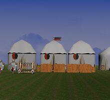 Medieval Camp by littlebelldesig