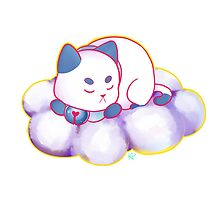 Blue PuppyCat Sticker by Kyuupeach
