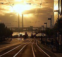 Evening Trackscape by mugley