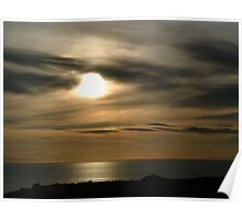 St Davids Sunset Poster