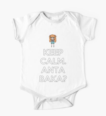 Keep Calm. Anta Baka? One Piece - Short Sleeve