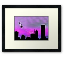 Mary Poppins is in Da' town Framed Print