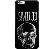 Smile! - White iPhone Case/Skin