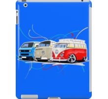 VW Bus Collection iPad Case/Skin