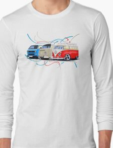 VW Bus Collection Long Sleeve T-Shirt
