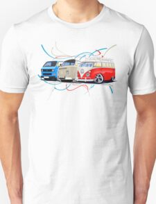 VW Bus Collection Unisex T-Shirt