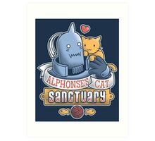 Alphonse's Cat Sanctuary Art Print