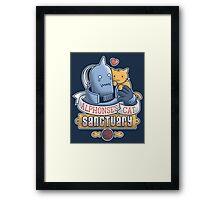 Alphonse's Cat Sanctuary Framed Print