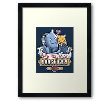 Alphonse's Cat Sanctuary Framed Print