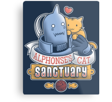 Alphonse's Cat Sanctuary Metal Print