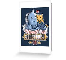 Alphonse's Cat Sanctuary Greeting Card