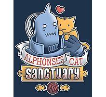 Alphonse's Cat Sanctuary Photographic Print