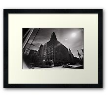 The Unity of the Manchester Framed Print