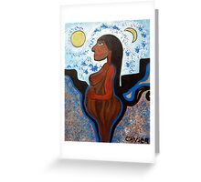Mother in Waiting Greeting Card