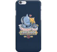 Alphonse's Cat Sanctuary iPhone Case/Skin