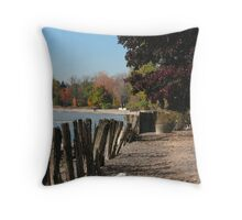 Ontario shores Throw Pillow