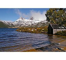 Boat House - Cradle Mountain Photographic Print