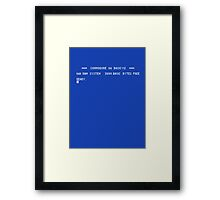 Commodore 64 load screen Framed Print
