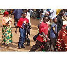 Rwandan Street Scene Photographic Print