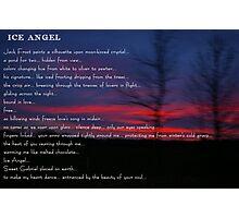 Ice Angel Photographic Print