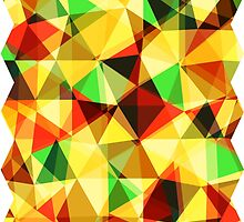 Colorful Kaleidoscope Pattern Design by twister025