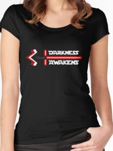 Darkness Awakens Women's Fitted Scoop T-Shirt