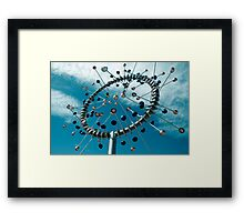 Cups of air Framed Print