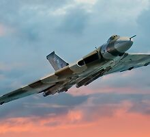 Avro Vulcan Sunset by © Steve H Clark
