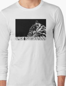 Support Tiger Conservation Long Sleeve T-Shirt