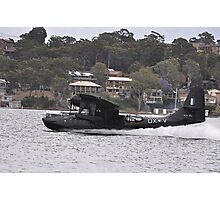 Catalina Water Take-off, Lake Macquarie, Australia 2012 Photographic Print