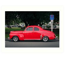 Cherry coupe Art Print