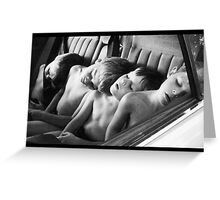 sleeping beauties Greeting Card