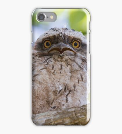 Do You Mean I Have To Leave The Nest? iPhone Case/Skin