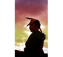 Native Sunset Photographic Print