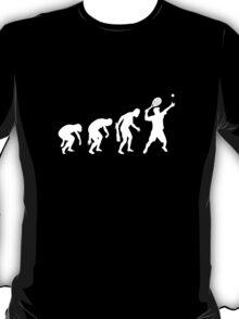 Evolution Of Tennis t-shirt T-Shirt