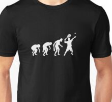 Evolution Of Tennis t-shirt Unisex T-Shirt